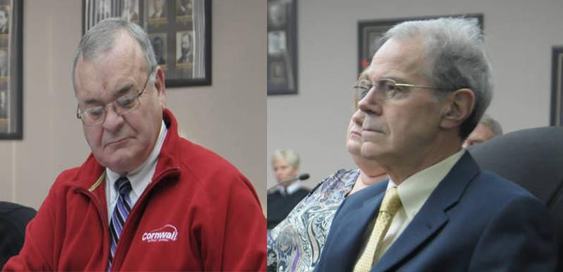 Andre Rivette Pat Finucan Board Chair Vice Chair-Jan2715