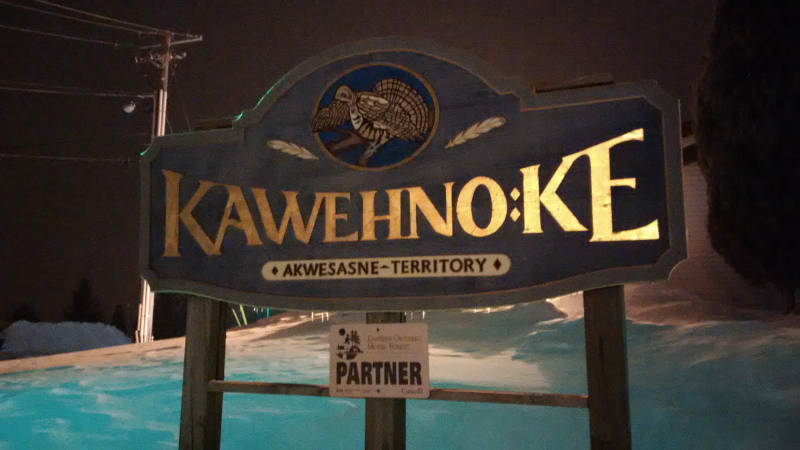 Akwesasne Cornwall Island Sign File-IMG_20150218_232745-Edited