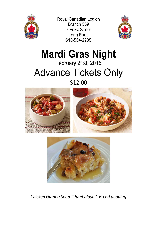Feb dinner poster