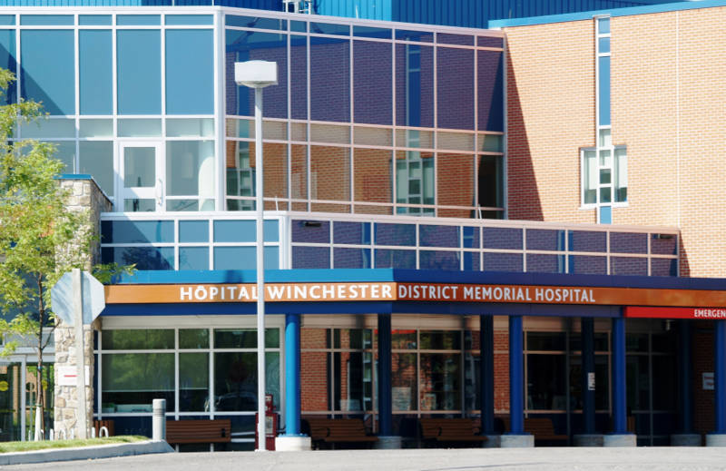 The Winchester District Memorial Hospital. (Newswatch Group/File)