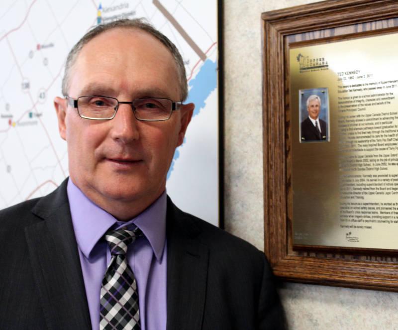 UCDSB Ted Kennedy Award Frank Hummell Apr2315 Edited