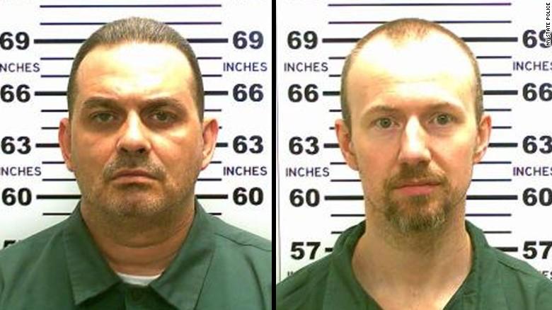 Richard Matt David Sweat Clinton Prison Escape Jun0715