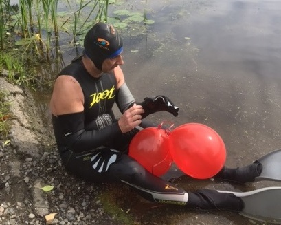 Dave Merpaw Swimming St. Lawrence River Jul1215
