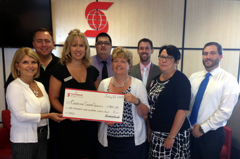 Scotiabank Relay for Life Donation Jul2615 Edited