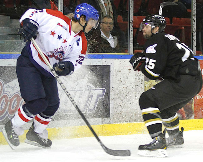 Cornwall River Kings forward Pierre-Luc Faubert will be back next season. Faubert and Guillaume Parenteau came to terms with the LNAH club. (Photo/Supplied)