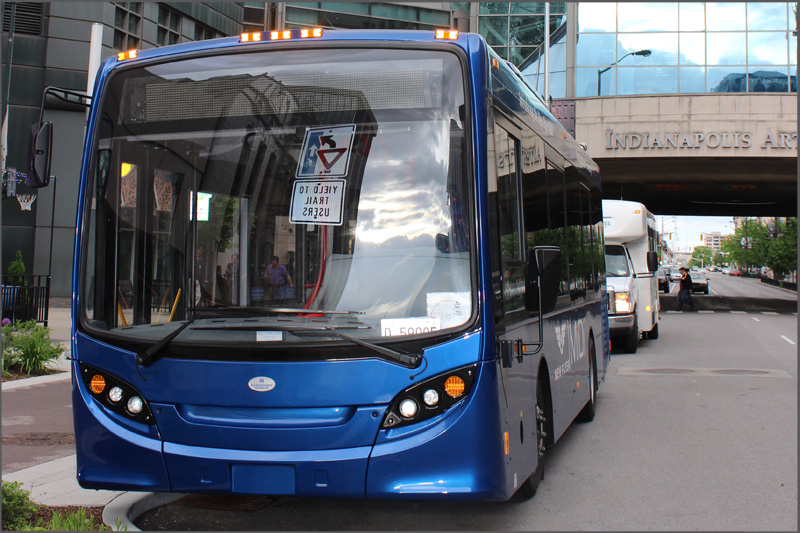 MiDi 30' Bus - Photo Courtesy New Flyer