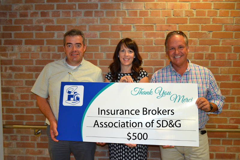 Insurance Brokers Hospital Foundation Donation Aug2815 Edited
