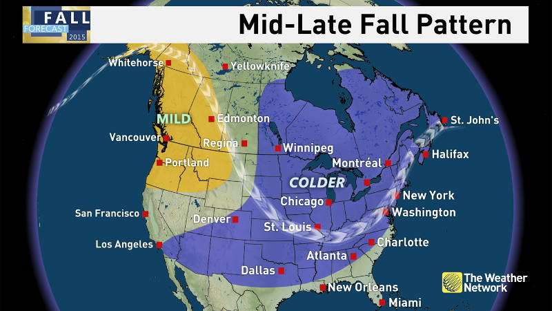 According to The Weather Network's fall outlook, the second half of the season will be a rude awakening about the winter to come for SD&G and much of Ontario. (Photo/The Weather Network)