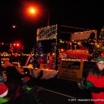 One of the many floats at the Cornwall Santa Claus Parade on November 21, 2015 (Newswatch Group/Phillip Blancher)