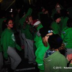 It wasn't just a parade for the Beat Central Dance Company, it was a dance party at the Cornwall Santa Claus Parade on November 21, 2015 (Newswatch Group/Phillip Blancher)