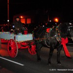 Several horses were involved in this years Cornwall Santa Claus Parade on November 21, 2015 (Newswatch Group/Phillip Blancher)