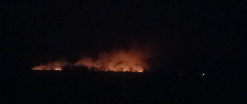Akwesasne Marsh Fire Nov1015 Edited
