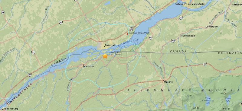 Earthquake Epicenter USGS Nov2815