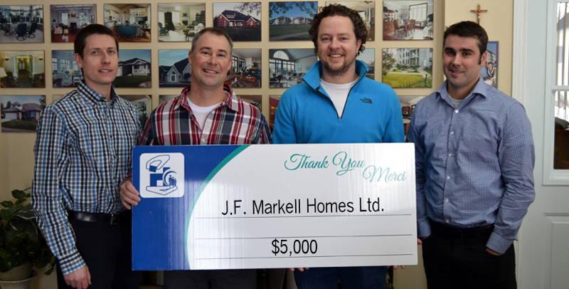 JF Markell Homes Donation Hospital Foundation Jan2816 Edited