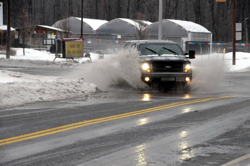 Flooded Streets Pickup Power Dam Vincent Massey Feb2416 Edited