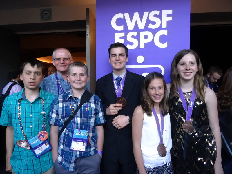 Canada Wide Science Fair 2016 Results May2316 Edited