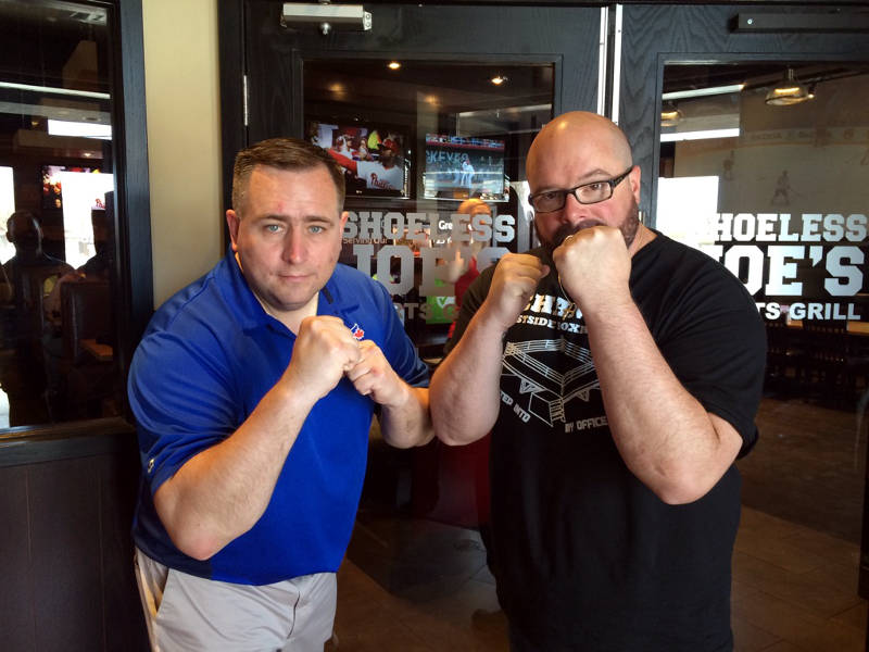 David Murphy Dan Allaire Celebrity Boxing May0616 Edited