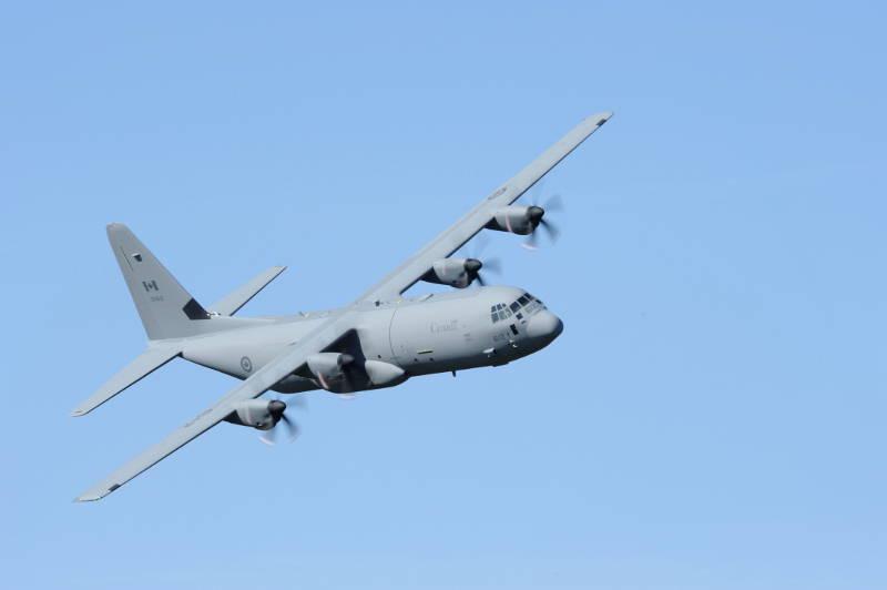 CC-130J Hercules Flyover Canada Day Jun2316 Edited