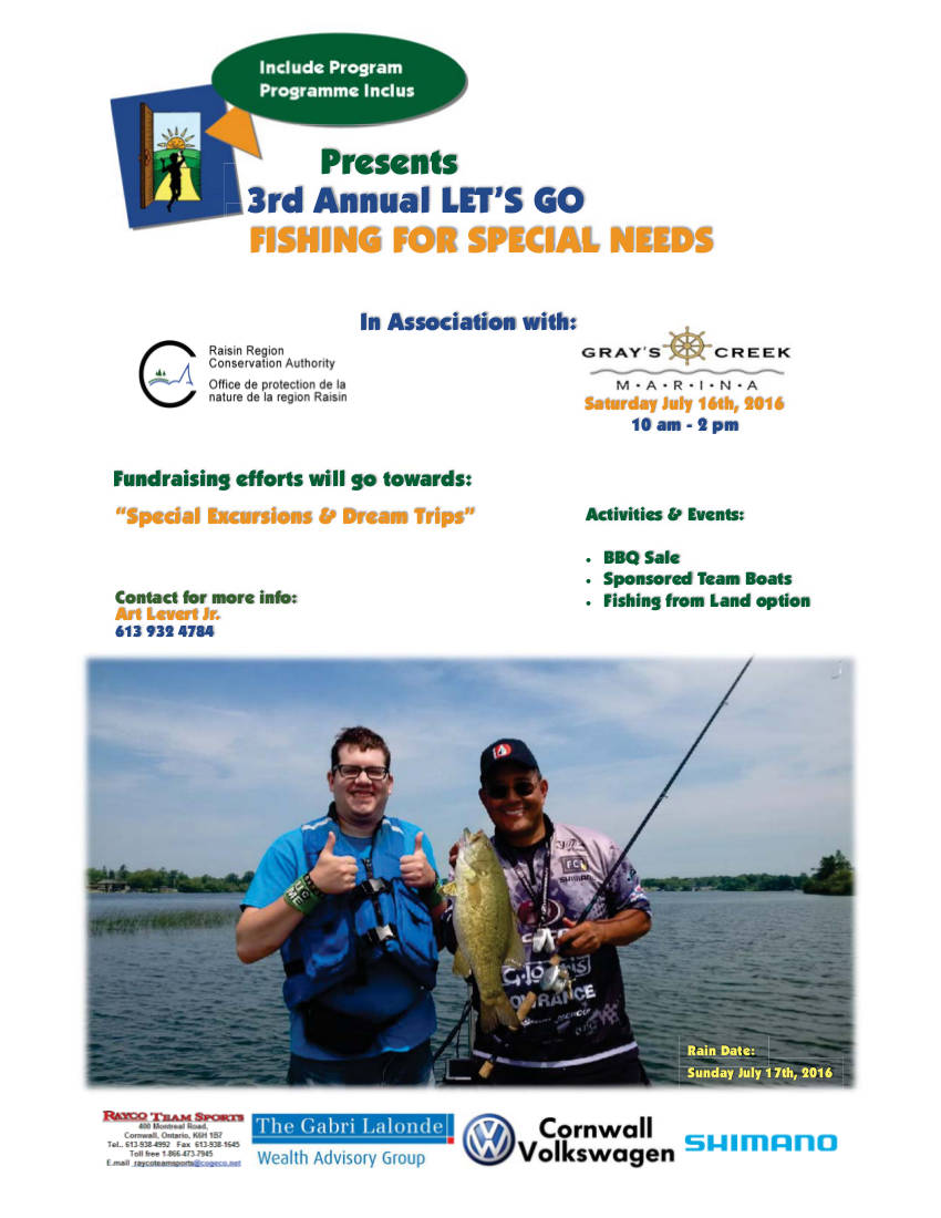 Fishing For Special Needs 2016 newer