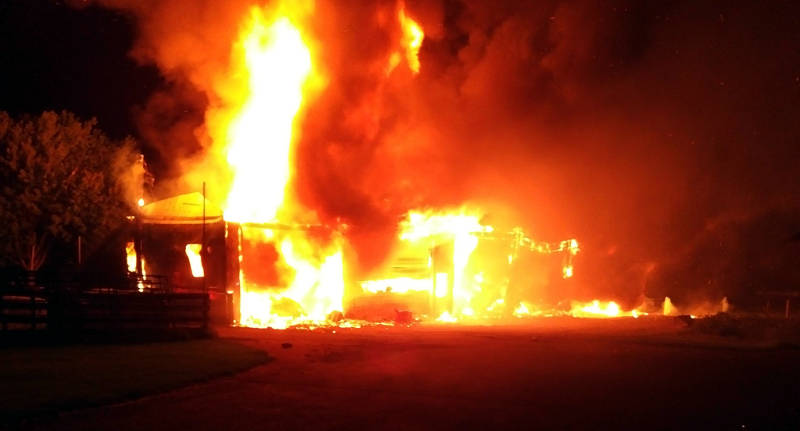 South Glengarry Equip Shed Fire Jul2416 Edited