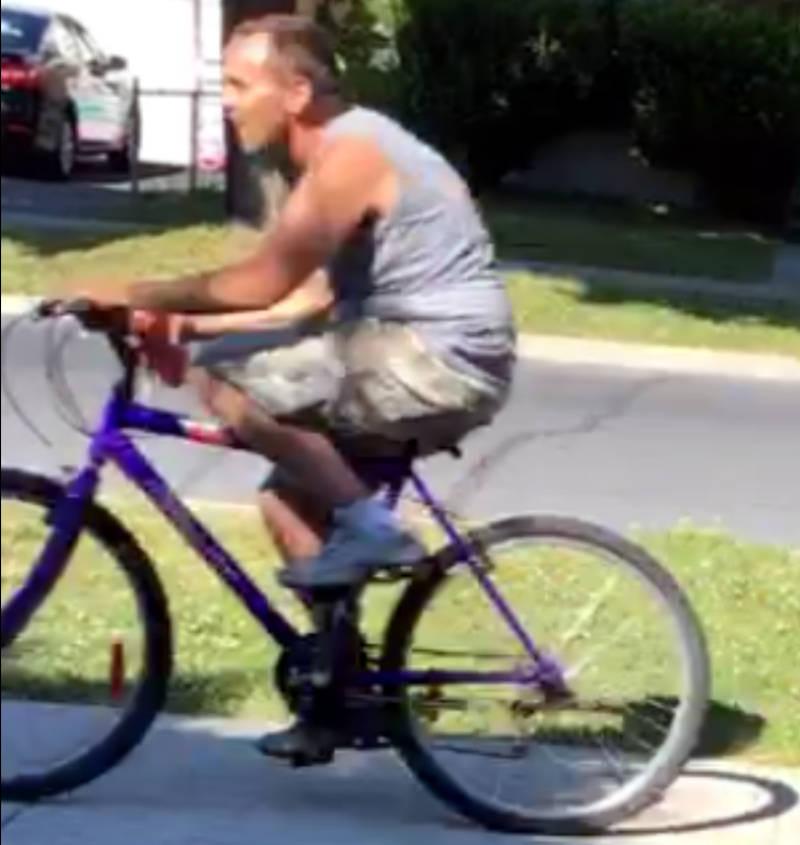 Man On Bike Smash And Grab Jul1218 E