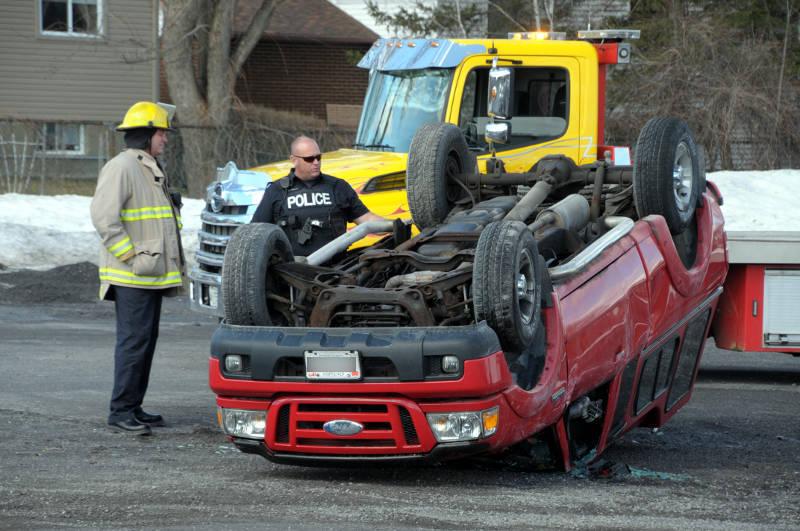 Pickup Truck Rollover St. Joe's Apr1619 E