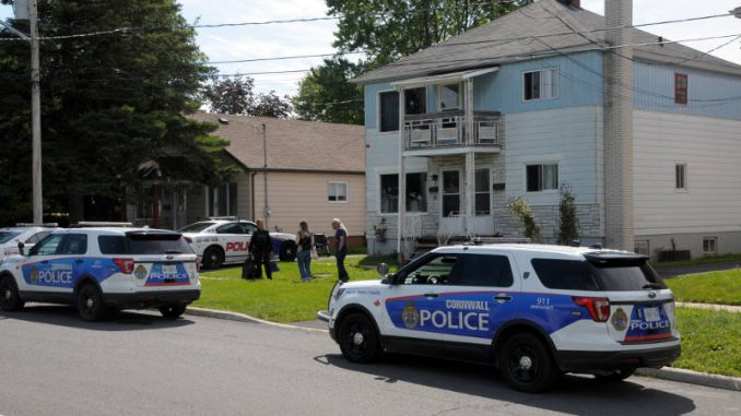 Cornwall police make arrests during unrelated call at east