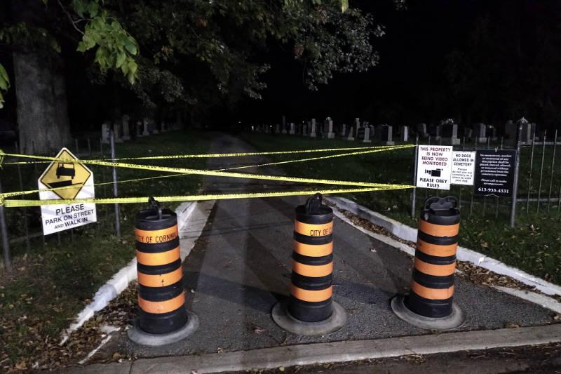 St. Columban's Cemetery Crime Scene Oct1019 02 E