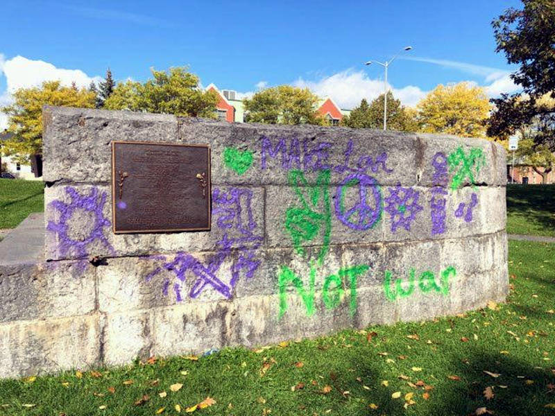 Workers Memorial Graffiti Oct1519 01 E