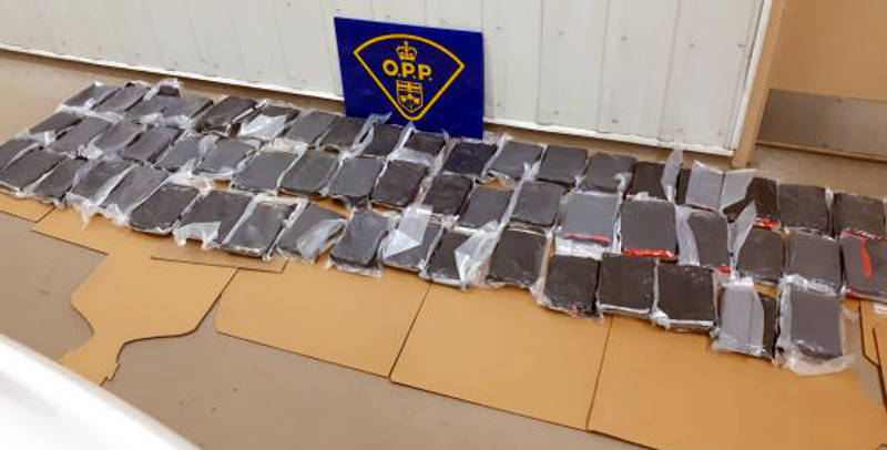 Cocaine Seizure Hwy 401 South Glengarry Mar1620 E