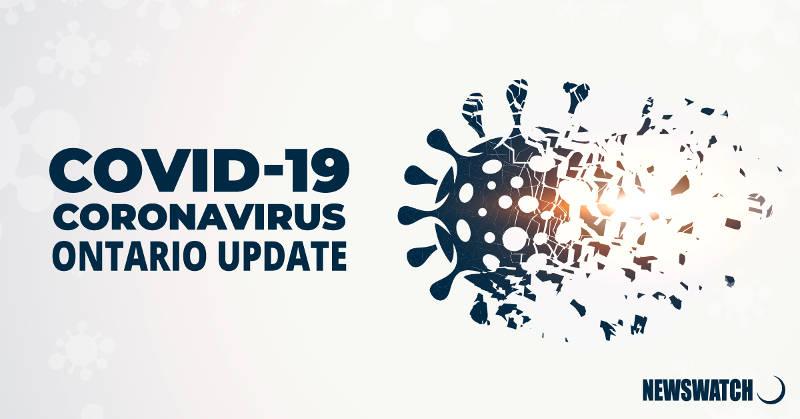 COVID-19 Ontario Update 800 Apr2421